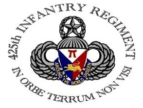 425 Regimental  LOGO - Small